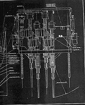 power boat diagram pt boat world - elco thunderbolt mark 15 mount pt boat diagram