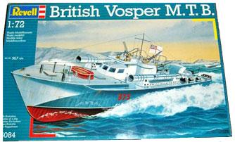 PT Boat World - The Revel Vosper MTB Model